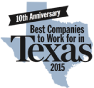 Best Companies to work for in Texas 2015